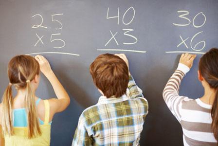 Teaching Math Facts To  Kids