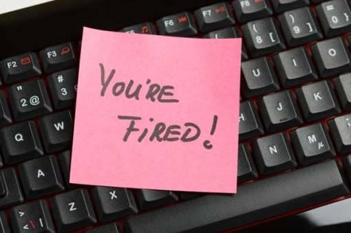 ways to lose job
